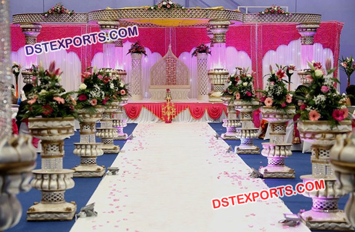 Gorgeous Wedding Mandap Set