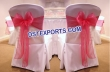 Wedding Chair Cover With Tissue Sashes