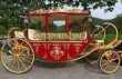Royal  Gold  Red  Horse   Carriage  For  Wedding