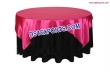 Banquet Hall Table Overlays