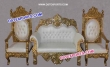 Royal Wedding Ancient Gold Furniture Chaise Set