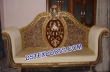 Asian Wedding Gold Love Seater