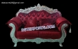 Royal Luxury Wedding Carved Two Seater